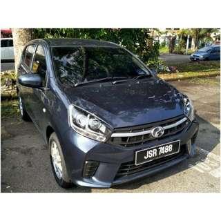 Perodua Axia 1.0 Auto ( Selfdrive in MY )