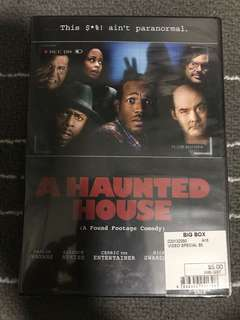 Haunted House Movie dvd