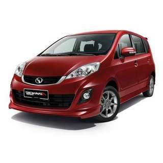 NEW Perodua Alza 1.5AV (A) 2018- No GST, 2.8%, GIFT, FULLOAN