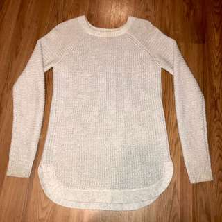 Simons light grey knit sweater