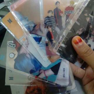 (READYSTOCK) Bts and Got7 Transparents Card