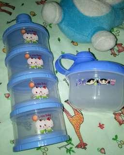 Tempat susu formula/snack baby