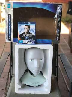 iRobot 3D Limited Edition, Predator 3D L.E & Predator DVD Collection.