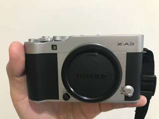 Full Kit Fujifilm XA3 LIKE NEW..!!