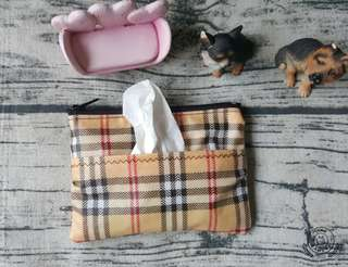 🚚 patty's home 手作隨身面紙零錢包及棉棉包