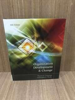 Organization development & change book