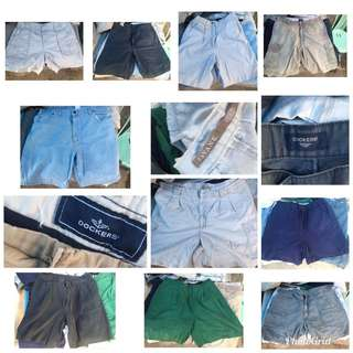 Mens Shorts from Ukay Bale(Take All for only 800.00)