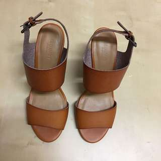 Brand new leather sandals