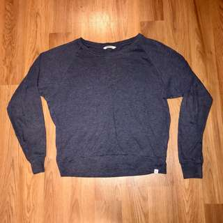 TNA navy blue longsleeve