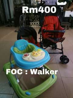 Baby Walker, Stroller, Carrier
