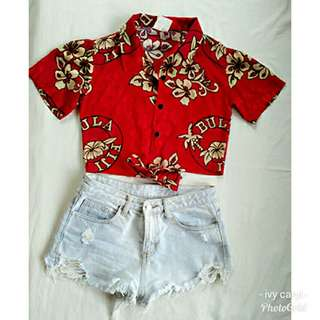 Cropped top/summer top