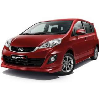 NEW Perodua Alza 1.5SE (A) 2018- No GST, 2.8%, GIFT, FULLOAN
