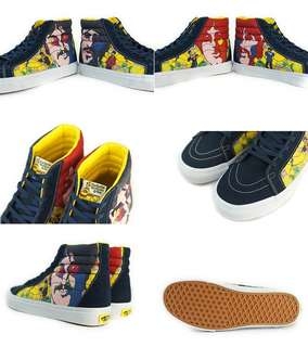 Vans yellow submarine