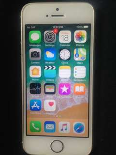 iPhone 5s used as iTouch