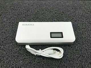 Romoss sense 4plus 10400 mah LCD display original power bank