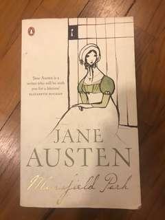 Jane Austin by Mansfield Park