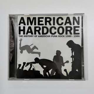 Various Artists 'American Hardcore, The History of American Punk Rock 1980-1986' CD