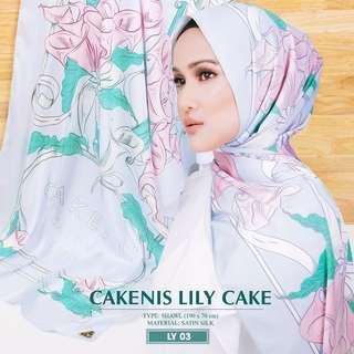 Cakenis Lily Cake Shawl