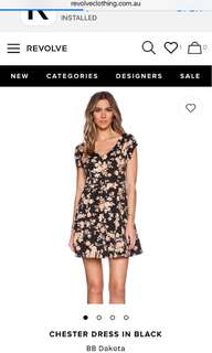 Revolve Clothing BB Dakota Chester dress us 2 sold out
