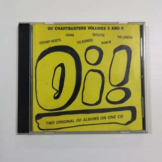 Various Artists 'Oi! The Chartbuster Volume 5 and 6' CD