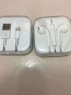 Iphone (IOS) Earpiece and cable