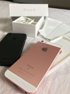 iPhone SE 16gb (rose gold)