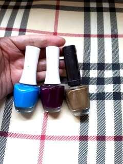 Kutex. The Face Shop ori. Nail polish. Preloved