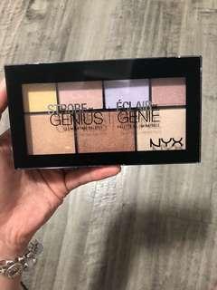 NYX Strobe of Genius highlight palette