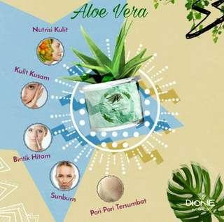 Peel Off Mask Powder Variant Aloe Vera
