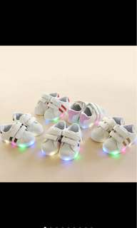 Baby kid boy girl light led shoes sport shoes toddler