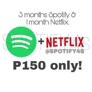 Spotify+Netflix Bundle