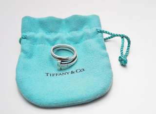 Ring T square wrap Tiffany & co