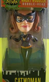 Cat woman wacky wobbler -bobbler head