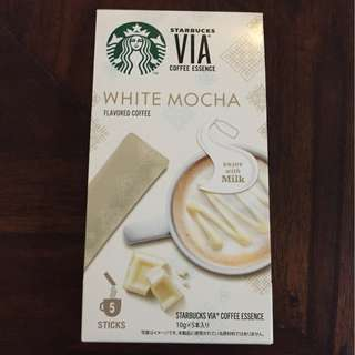 Starbucks VIA White Mocha Flavored Coffee