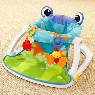 Sit-Me-Up Floor Seat Frog