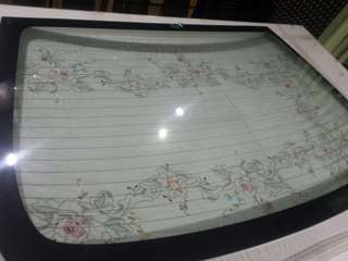 toyota altis 08-12 rear windshield