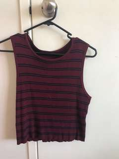 Crop top from Valleygirl Size L