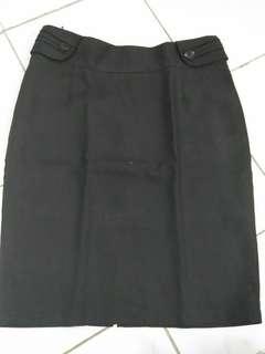 Rok span pendek/rok pendek hitam