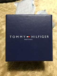 Men's Tommy Hilfiger Gold Trim Watch