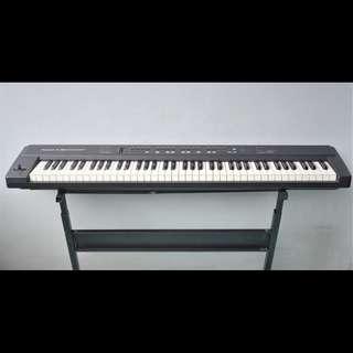 Roland A-30 midi keyboard controller (76 keys) with Yamaha TG100 Tone Generator