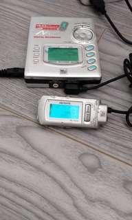 aiwa AM-F70 MD 播放機 包括線控