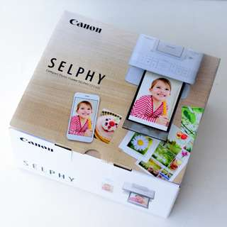 (Brand New) Canon Selphy CP1300 photo printer