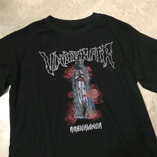 korean ulzzang underair band tee