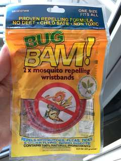 Bug Bam! Mosquito Repelling Wristbands