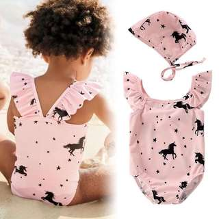 Baby Girl Swimsuit (85 to 100cm)