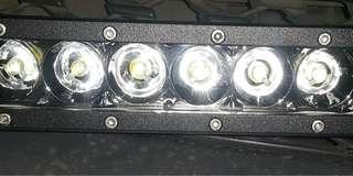 LED Light Bar NILIGHT 30 watt 6 mata lensa 3d worklight 12v-24v (2 pcs)