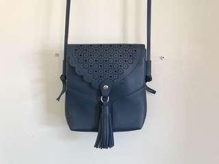 Boho Blue Small Bag