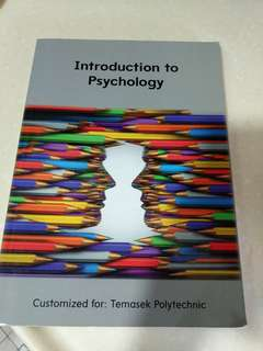 Psychology textbook for Temasek poly