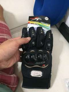 ProBiker Riding Gloves [New]