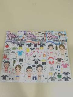 BOYS OVER FLOWERS Dress-up Stickers Limited Edition